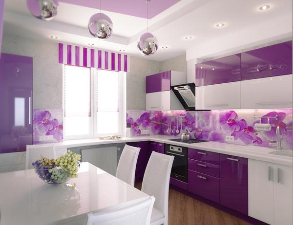 Những thiết kế bếp màu tím đẹp ngoài sức tưởng tượng 10