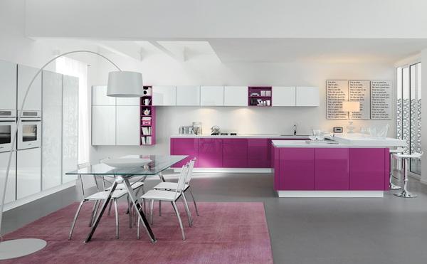 Những thiết kế bếp màu tím đẹp ngoài sức tưởng tượng 11