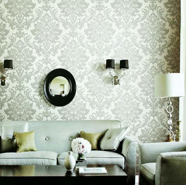15 ý tưởng tạo nét đẹp hài hòa giữa giấy dán tường và nội thất 10