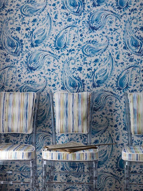 15 ý tưởng tạo nét đẹp hài hòa giữa giấy dán tường và nội thất 11