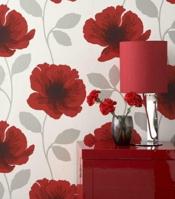 15 ý tưởng tạo nét đẹp hài hòa giữa giấy dán tường và nội thất 12