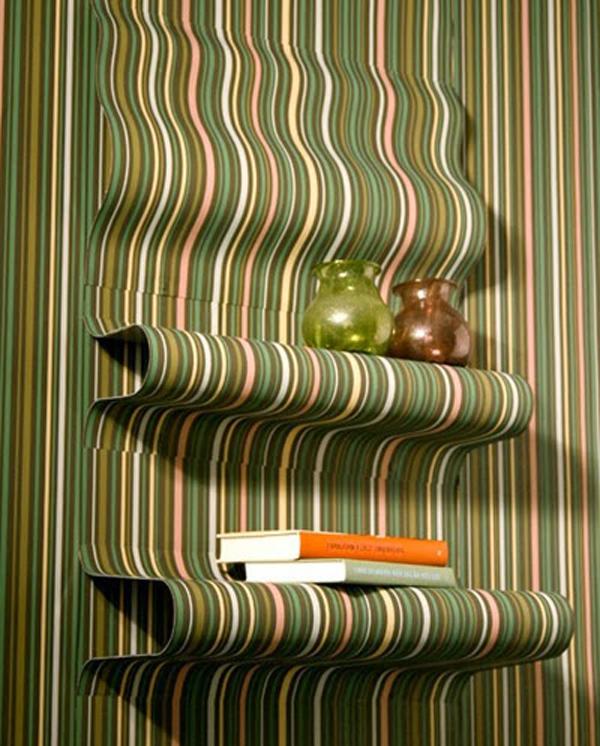 15 ý tưởng tạo nét đẹp hài hòa giữa giấy dán tường và nội thất 14