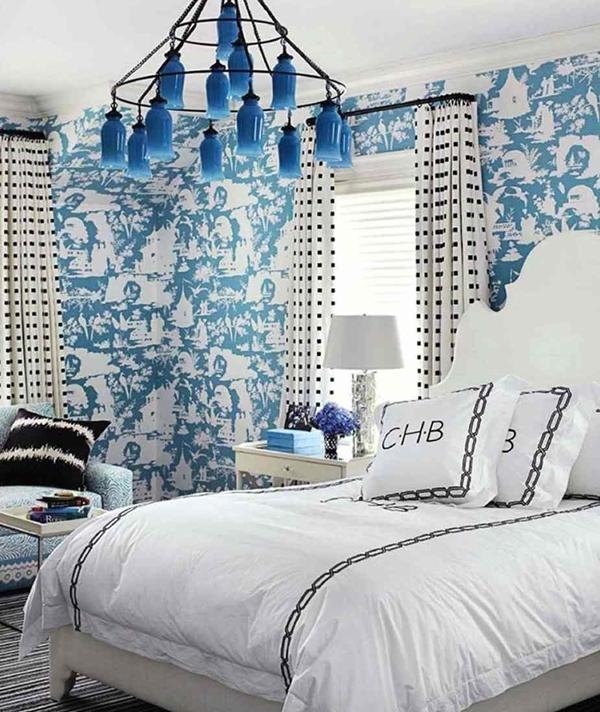 15 ý tưởng tạo nét đẹp hài hòa giữa giấy dán tường và nội thất 2