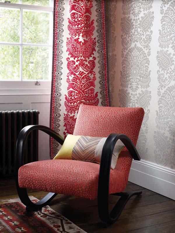 15 ý tưởng tạo nét đẹp hài hòa giữa giấy dán tường và nội thất 4