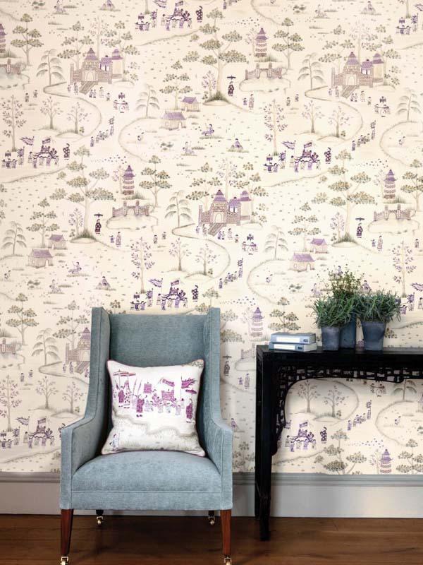 15 ý tưởng tạo nét đẹp hài hòa giữa giấy dán tường và nội thất 5