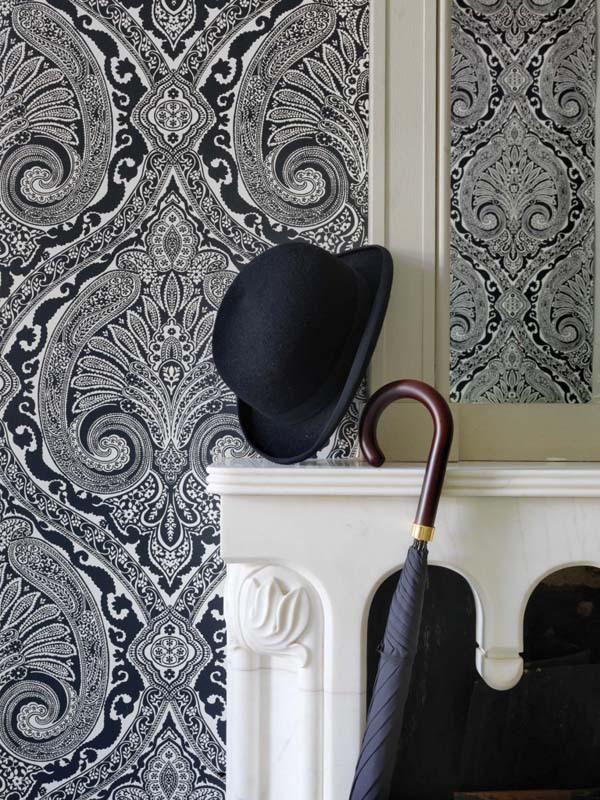 15 ý tưởng tạo nét đẹp hài hòa giữa giấy dán tường và nội thất 6