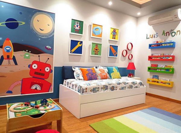 Ý tưởng trang trí phòng ngủ bé trai cực đẹp 11