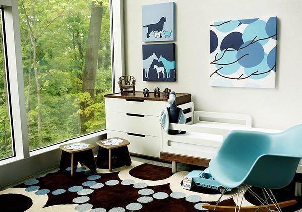 Ý tưởng trang trí phòng ngủ bé trai cực đẹp 16