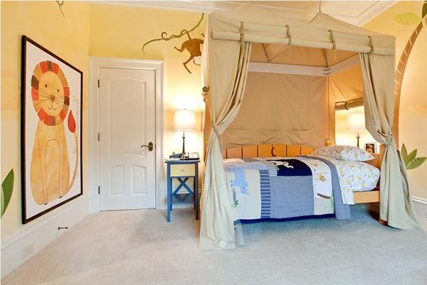 Ý tưởng trang trí phòng ngủ bé trai cực đẹp 19