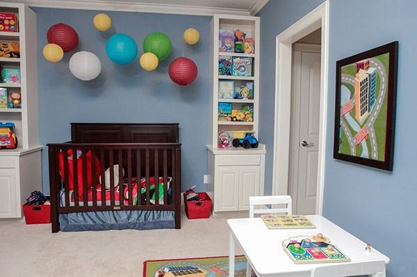 Ý tưởng trang trí phòng ngủ bé trai cực đẹp 2