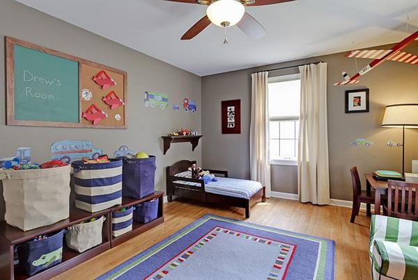 Ý tưởng trang trí phòng ngủ bé trai cực đẹp 5