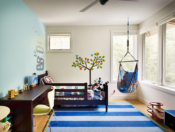 Ý tưởng trang trí phòng ngủ bé trai cực đẹp 7