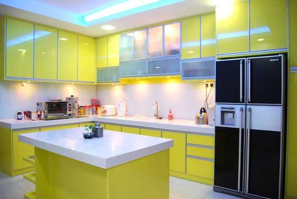 Trang trí bếp đẹp theo phong cách hiện đại 13