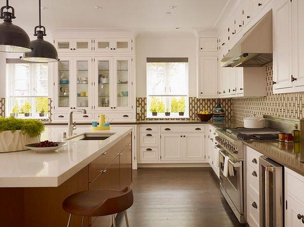 Trang trí bếp đẹp theo phong cách hiện đại 16