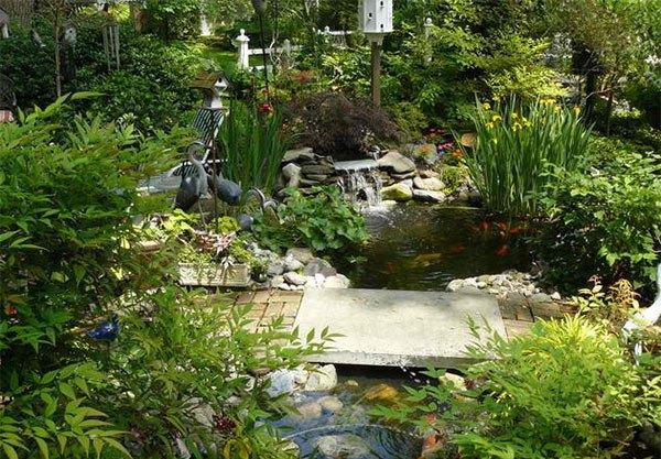 Những thiết kế hồ nước nhỏ xinh cho sân vườn 1