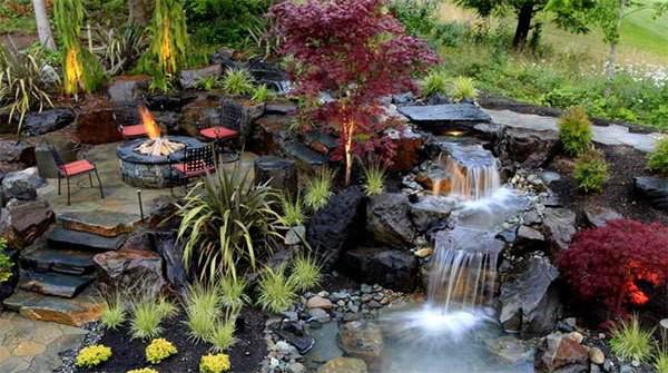 Những thiết kế hồ nước nhỏ xinh cho sân vườn 8