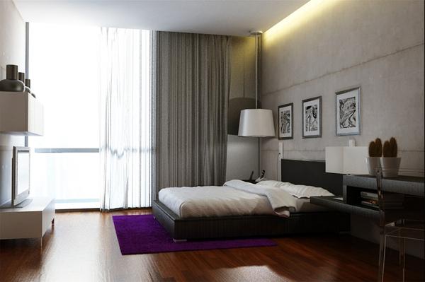 Tư vấn thiết kế và bố trí nội thất cho nhà ống có 2 khoảng vườn xanh 10
