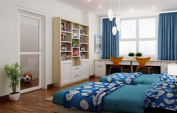 Tư vấn thiết kế và bố trí nội thất cho nhà ống có 2 khoảng vườn xanh 12
