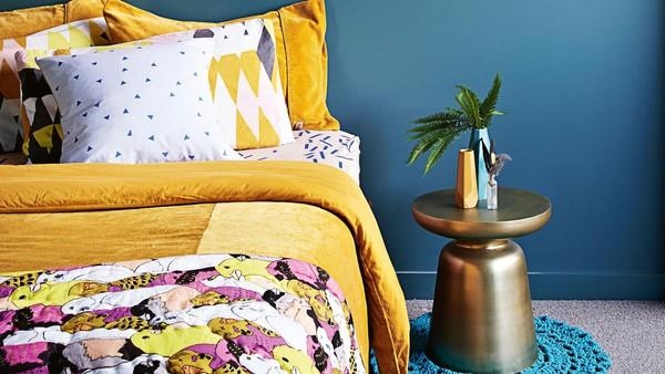 Trang trí nhà với gam màu vàng nổi bật 1