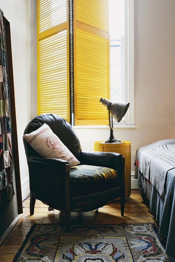Trang trí nhà với gam màu vàng nổi bật 10