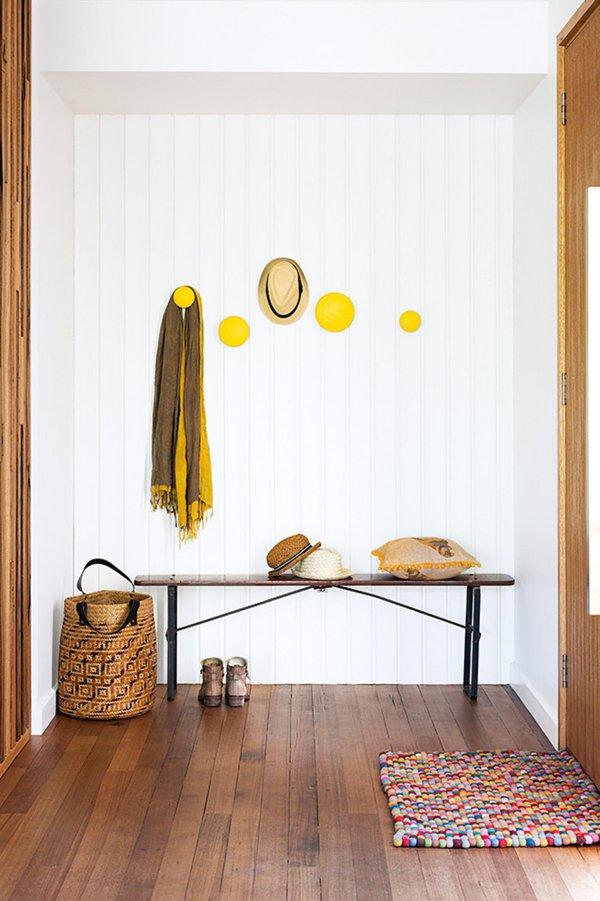 Trang trí nhà với gam màu vàng nổi bật 12