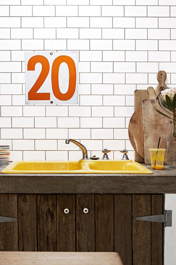 Trang trí nhà với gam màu vàng nổi bật 3