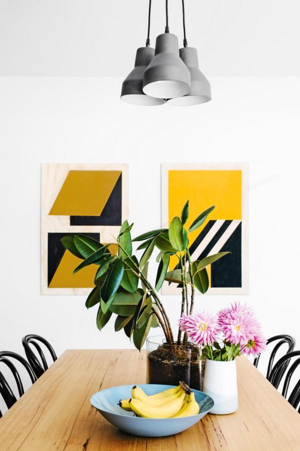 Trang trí nhà với gam màu vàng nổi bật 6