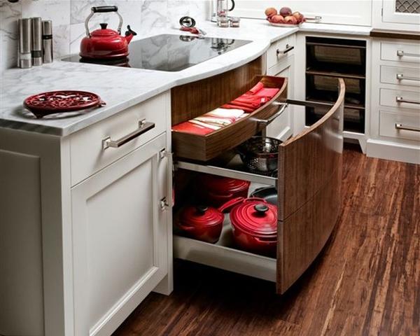 Bí quyết sắp xếp tủ bếp thông minh và khoa học 8