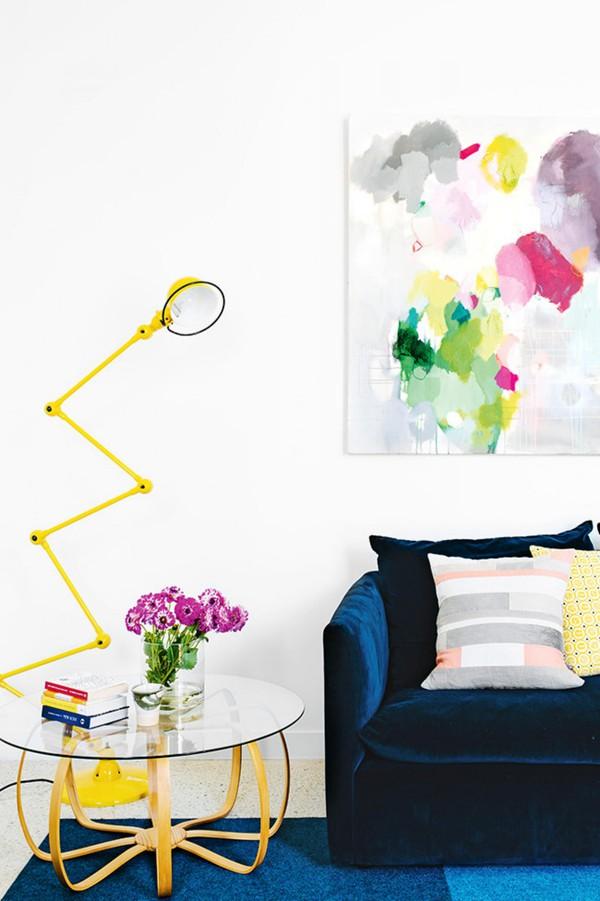 Trang trí nhà với gam màu vàng nổi bật 8