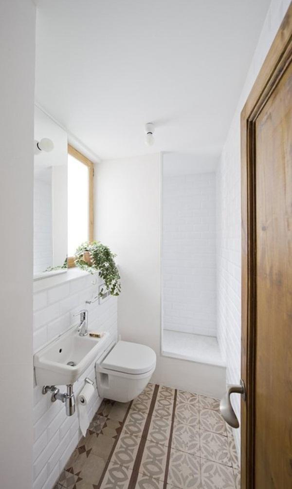 Thổi hồn cho phòng tắm nhỏ 5m2 thật dễ 5