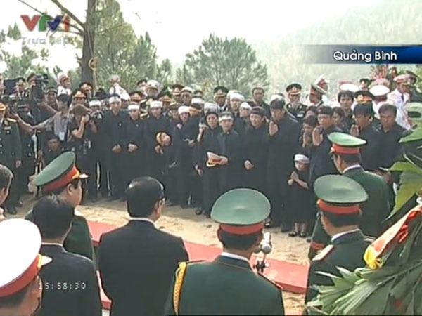 Đại tướng Võ Nguyên Giáp đã yên nghỉ trong lòng đất Mẹ 105