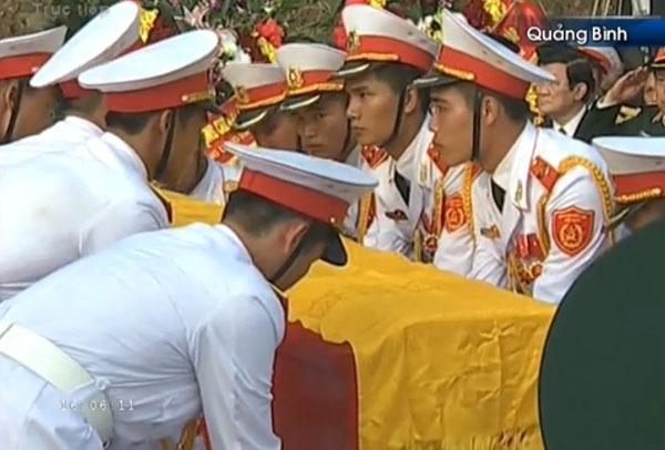Đại tướng Võ Nguyên Giáp đã yên nghỉ trong lòng đất Mẹ 109