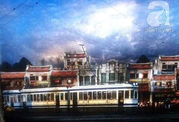 Những hình ảnh không thể kìm lòng về tàu điện xưa ở Hà Nội 8