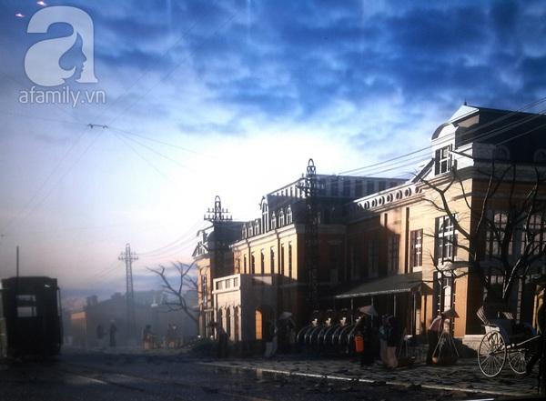 Những hình ảnh không thể kìm lòng về tàu điện xưa ở Hà Nội 9