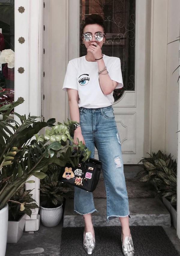 quần jeans ống lửng