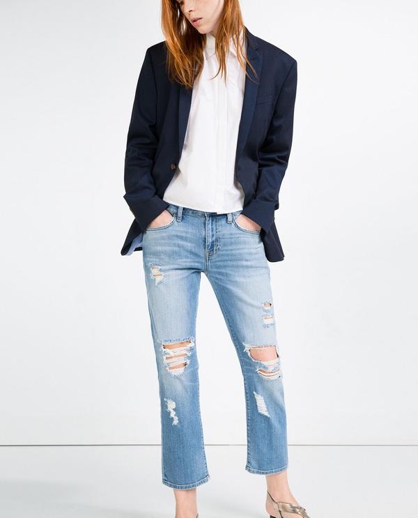 quần jeans cho chân nhỏ