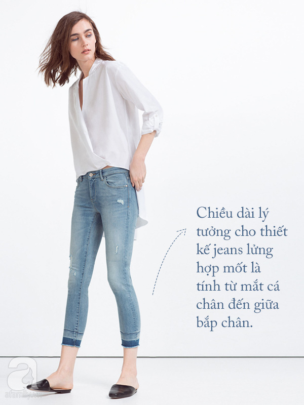 jeans lửng
