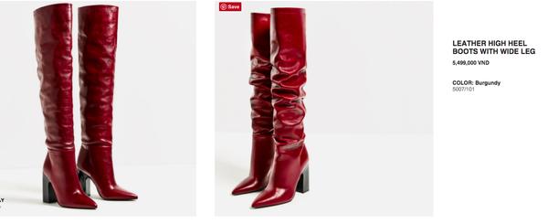 """Không chỉ riêng ở Nhật mà ngay tại thị trường Việt Nam, đôi boots này cũng  đội giá lên khá cao so với """"nước chủ nhà""""."""