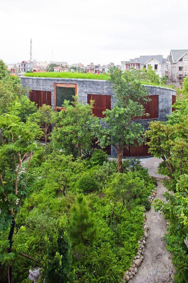 """Những ngôi nhà """"đội cây"""" độc đáo nhất thế giới (P1) 17"""