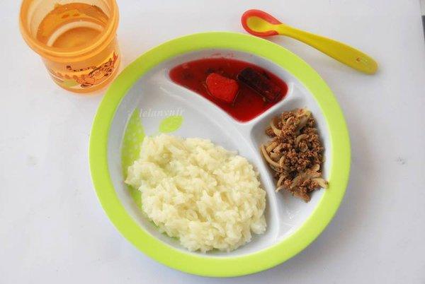 Thực đơn và cách chế biến đồ ăn dặm giai đoạn 9 tháng tuổi 4