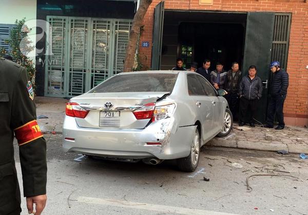 Tai nạn phố Ái Mộ