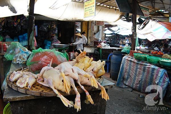 thịt gà chảy nước