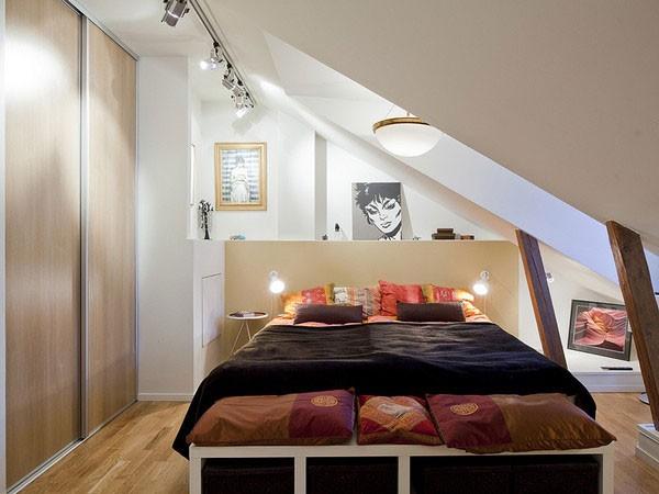 Gợi ý mẹo trang trí phòng ngủ nhỏ trở nên rộng rãi 3