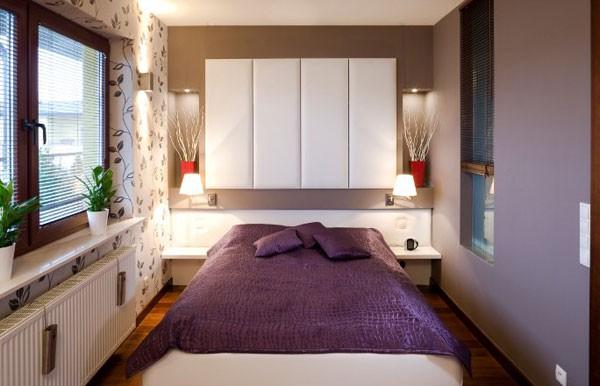 Gợi ý mẹo trang trí phòng ngủ nhỏ trở nên rộng rãi 11