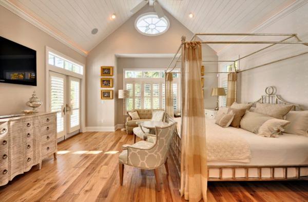Giường canopy - món nội thất ấn tượng cho phòng ngủ (P.1) 1