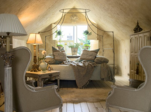 Giường canopy - món nội thất ấn tượng cho phòng ngủ (P.1) 3