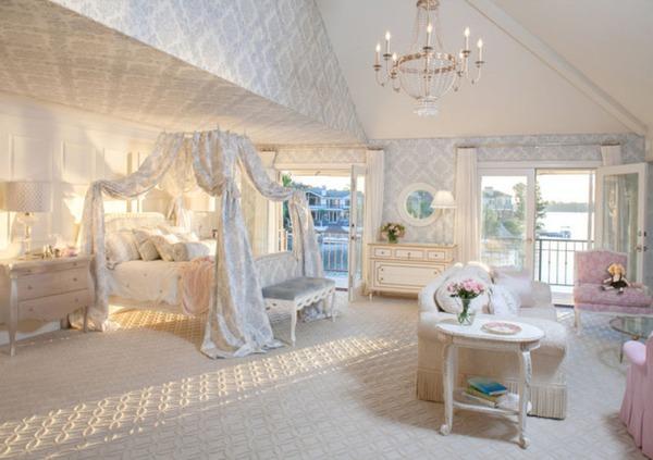 Giường canopy - món nội thất ấn tượng cho phòng ngủ (P.1) 2