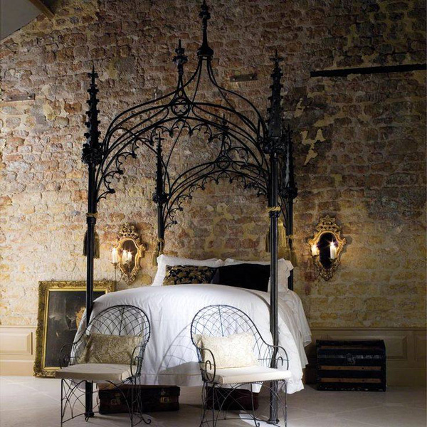 Giường canopy - món nội thất ấn tượng cho phòng ngủ (P.1) 6