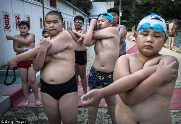 Mục sở thị trại huấn luyện dành cho trẻ béo phì con nhà giàu ở Trung Quốc 1