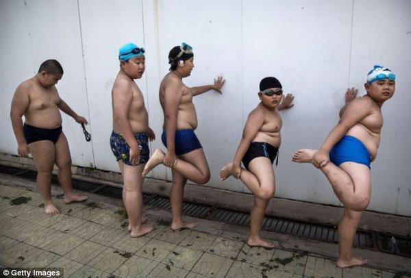 Mục sở thị trại huấn luyện dành cho trẻ béo phì con nhà giàu ở Trung Quốc 6